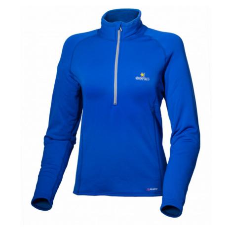 Dámský pulover Warmpeace Fram Lady Powerstretch royal blue