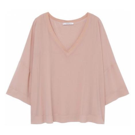 MANGO Tričko růžová