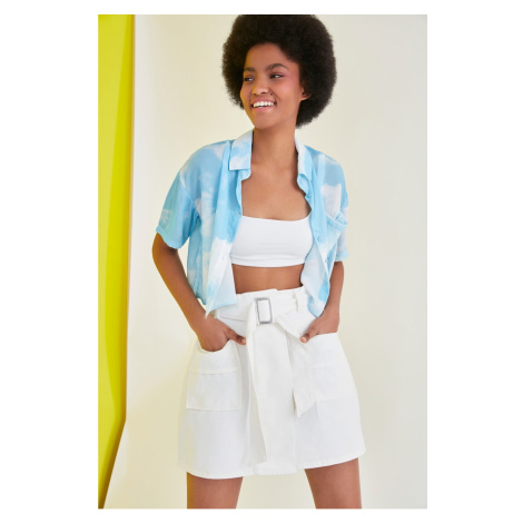 Trendyol Multicolored Pocket Shirt