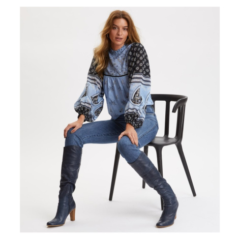 Džíny Odd Molly I'M Game Jeans - Modrá