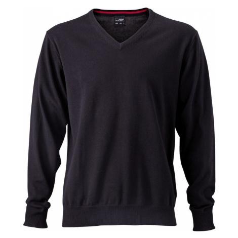 James & Nicholson Pánský bavlněný svetr JN659
