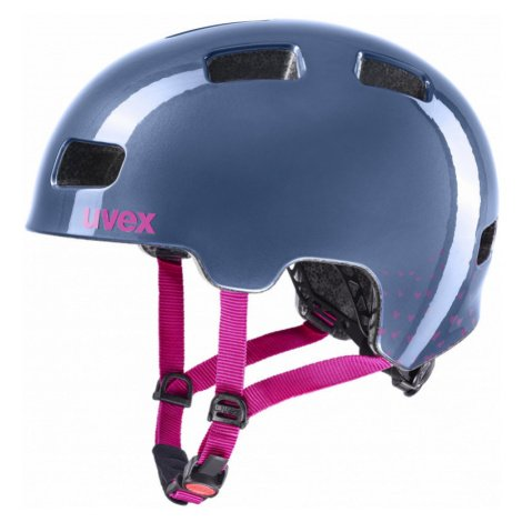 Cyklistická helma Uvex City 4 Mini Me midnight-berry