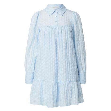 Love Copenhagen Košilové šaty 'Mulka' světlemodrá