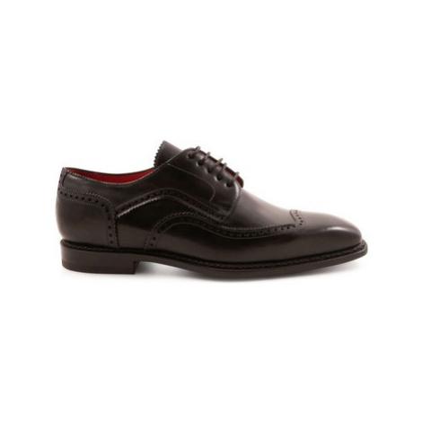 Leonardo Shoes 5212 MONTECARLO NERO Černá