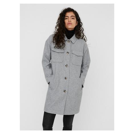 Vero Moda šedý lehký kabát Dafne