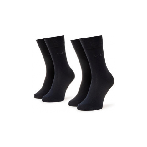 Sada 2 párů pánských vysokých ponožek Bugatti
