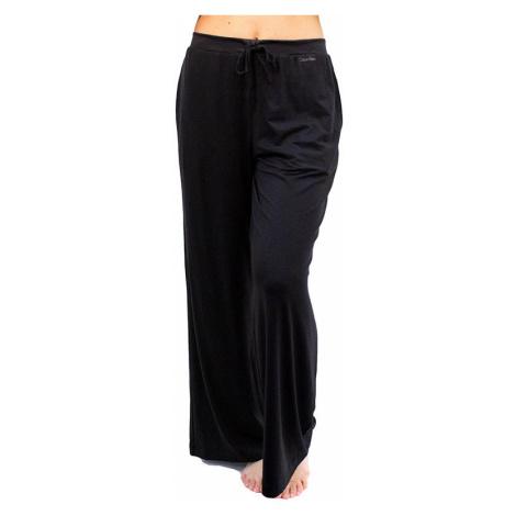 Dámské kalhoty na spaní Calvin Klein černé (QS6527E-UB1)
