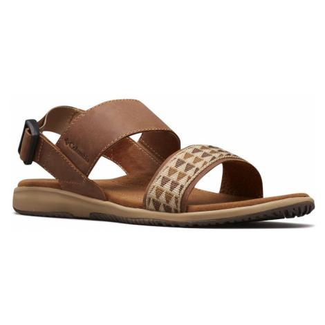 Sandály Columbia SOLANA W - béžová/hnědá