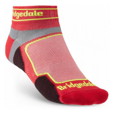 Pánské ponožky Bridgedale Trail Run UL T2 CS Low red