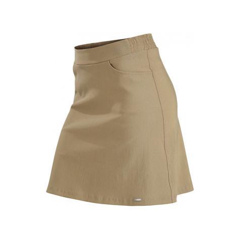 Dámská sukně Litex 60113 | hnědošedá