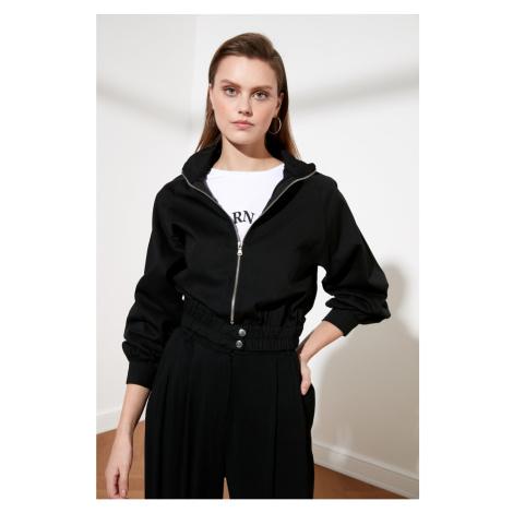 Trendyol Black Zip Jacket