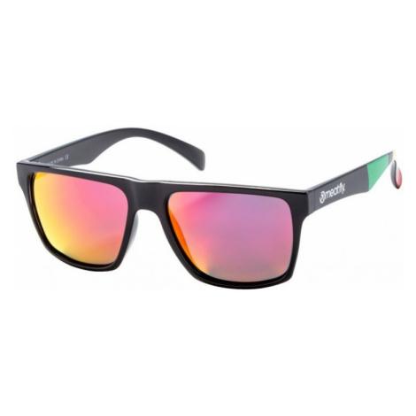 Brýle Meatfly Trigger black glossy, red