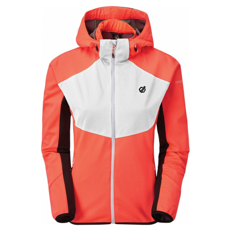 Dámská softshellová bunda Dare2b INCENTIVE oranžová/černá Dare 2b