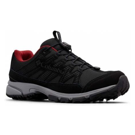 Columbia FIVE FORKS WP černá - Pánská outdoorová obuv