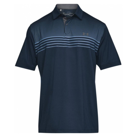 Under Armour Coolswitch Launch Polo Modrá