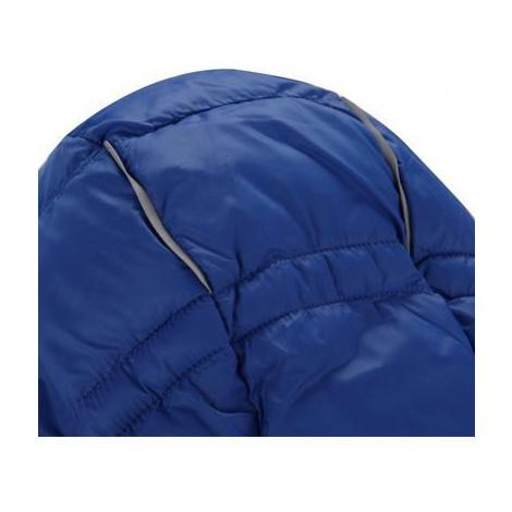Dětská zimní oboustranná bunda Alpine Pro SELMO - modro-zelená
