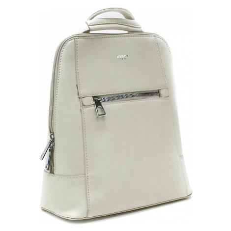 Béžový městský dámský batoh Maritza Mahel