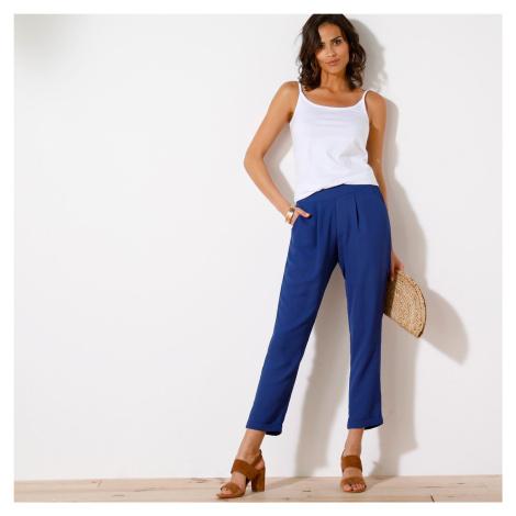 Blancheporte 7/8 úzké kalhoty indigo
