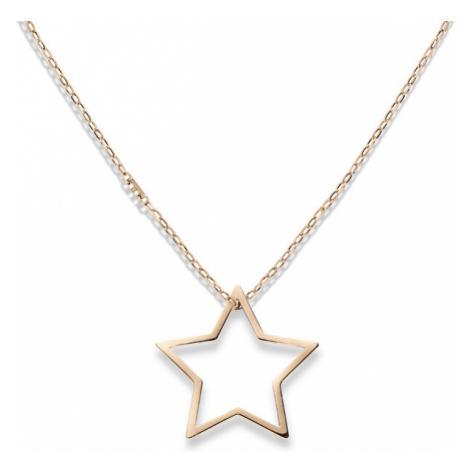 Tommy Hilfiger Bronzový náhrdelník s hvězdou TH2700852