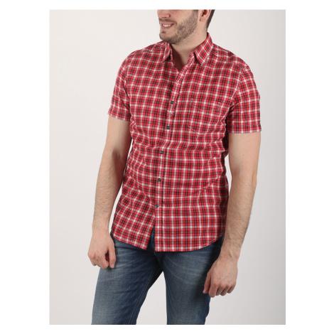 Košile Diesel S-JUGO CAMICIA Červená