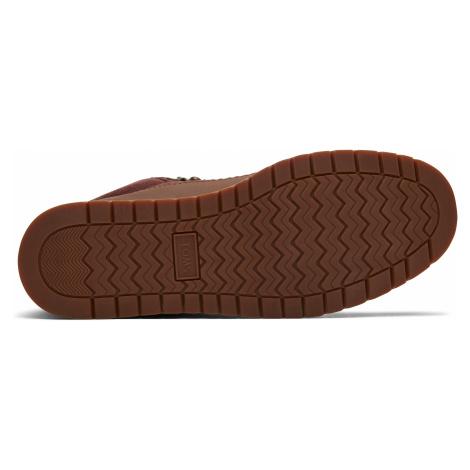Waterproof Penny Brown Leather/Suede Women Mesa Boot Toms