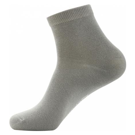 ALPINE PRO 2ULIANO Unisex ponožky 2 páry USCZ013773 šedá