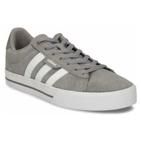Kožené pánské tenisky v šedobílé variantě Adidas