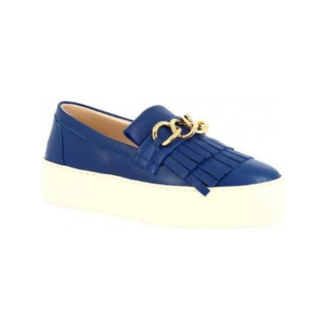 Leonardo Shoes G03 NAPPA COBALTO Modrá