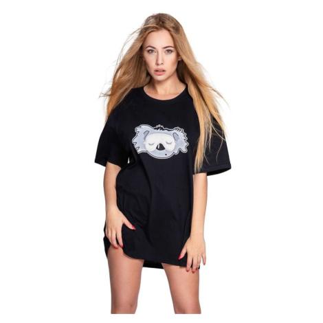 Noční košile Koala černá Sensis
