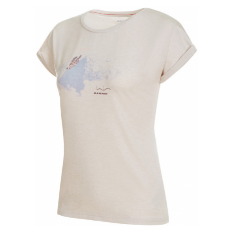 Dámské tričko Mammut Mountain T-Shirt Women bright white melange