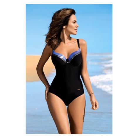Černé jednodílné plavky Scarlet Gabbiano
