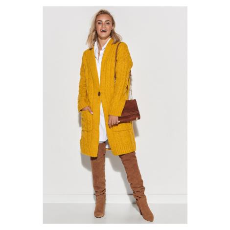 Makadamia Woman's Sweater S103 Mustard