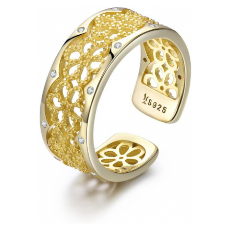 Linda's Jewelry Stříbrný prsten Midasův Květ Ag 925/1000 IPR073 Velikost: Univerzální