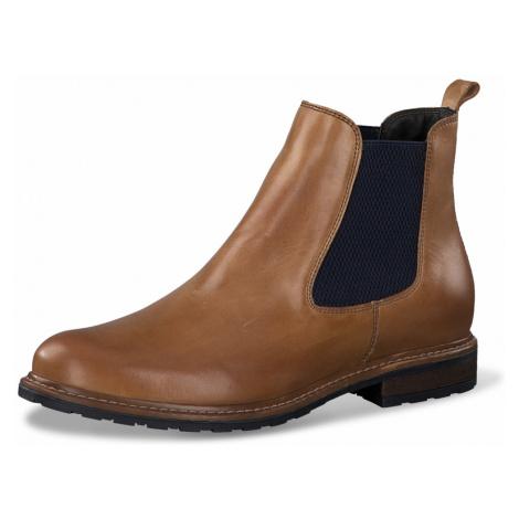 1-1-25056-25 Dámské boty 481 hnědá Tamaris