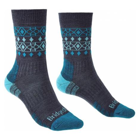 Bridgedale Hike Lightweight Merino Performance Ankle Women´s denim/blue M (5-6,5)