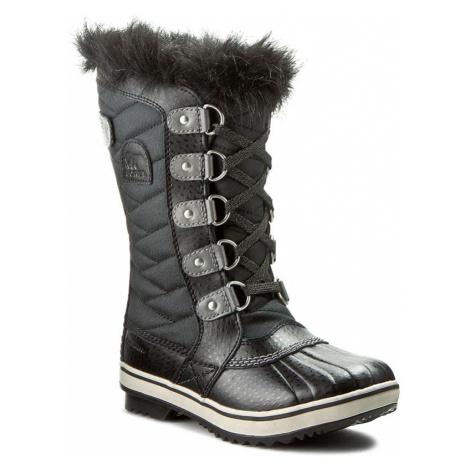 Sněhule SOREL - Youth Tofino II NY2419 Black/Quarry 010