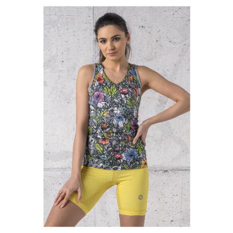Nessi Sportswear Sportovní Top Slim DBP-13M4 Mosaic Nature