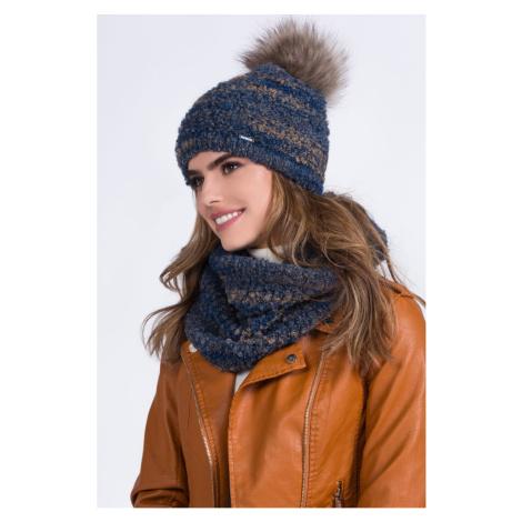 Kamea Woman's Hat K.20.006.11 Navy Blue
