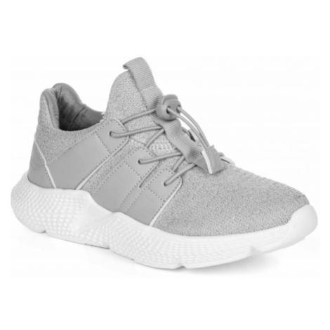 Loap CORFINO šedá - Dětská vycházková obuv