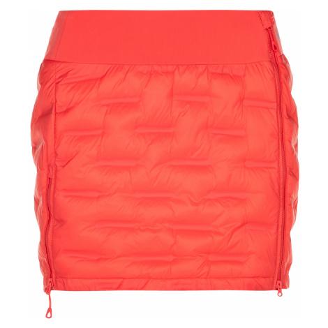 KILPI Dámská prošívaná sukně TANY-W NL0056KICOR korálová