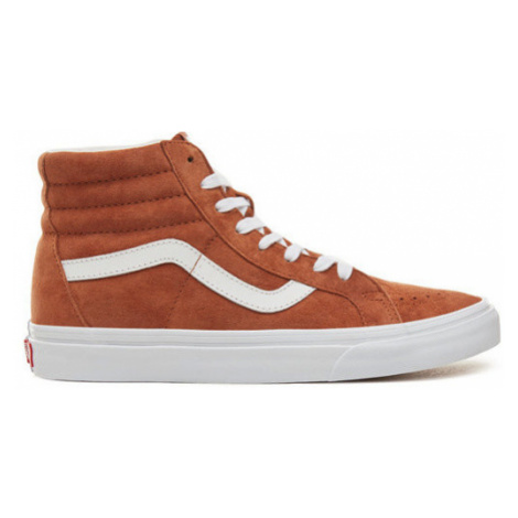 Boty Vans SK8-Hi Reissue leather brown-true white