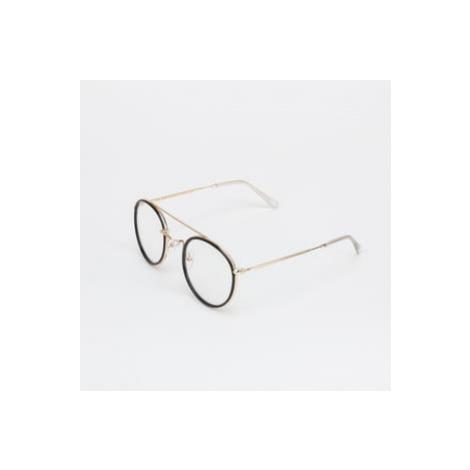 Urban Classics Sunglasses Palermo zlaté / černé/ průhledné