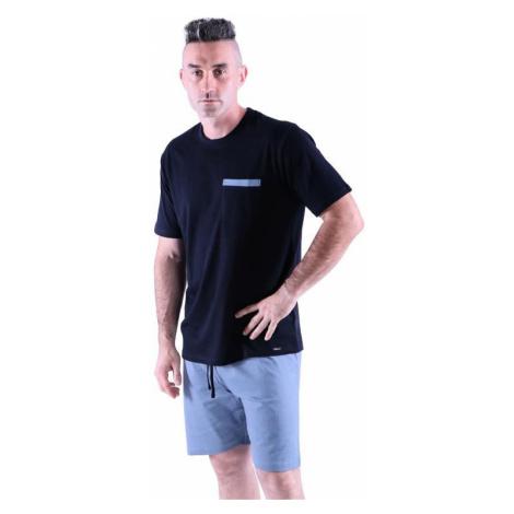 Pánské pyžamo Matty černé