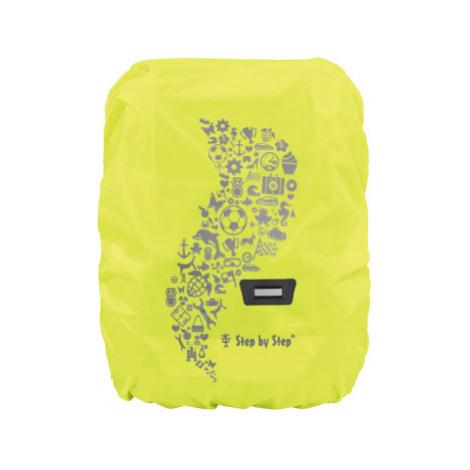 Pláštěnka pro školní aktovku nebo batoh, žlutá