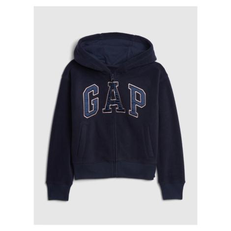 GAP tmavě modrá chlapecká mikina