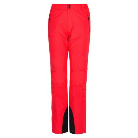 KILPI Dámské lyžařské kalhoty - větší velikosti GABONE-W LLX047KIPNK Růžová