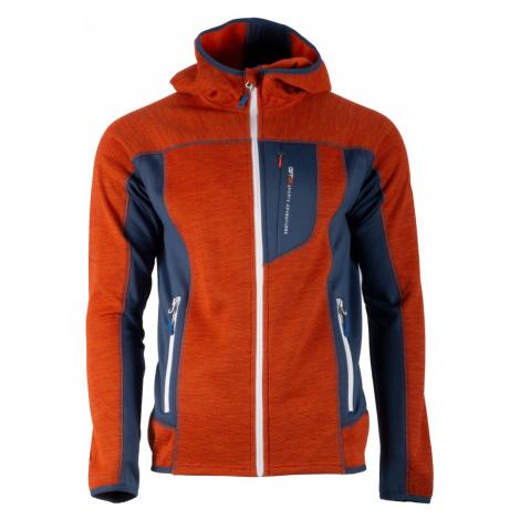 Pánská fleecová mikina GTS 3018 oranžová