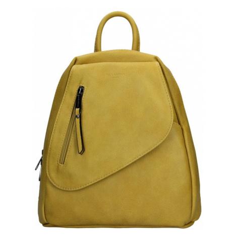 Dámský batoh Hexagona Liliam - žlutá