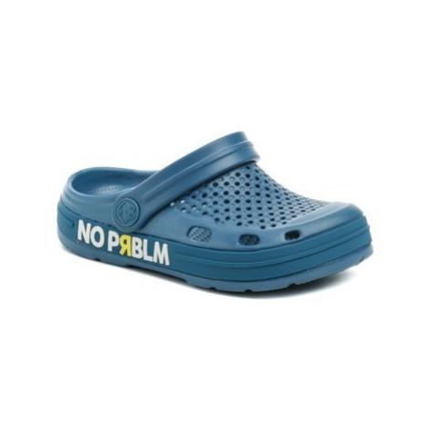 Coqui 6423 Lindo Niagara Blue dětské nazouváky Modrá