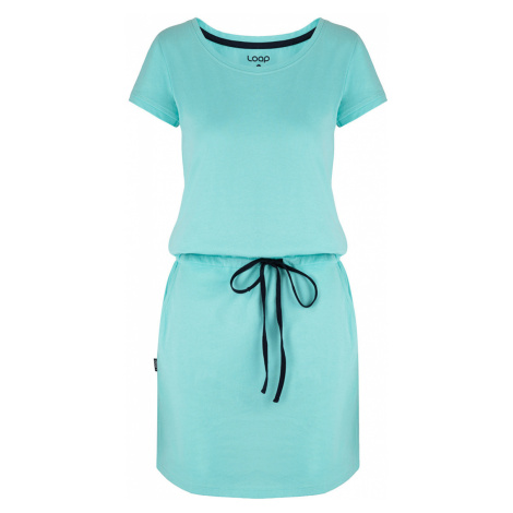 LOAP BANNY Dámské šaty CLW2035M69M modrá